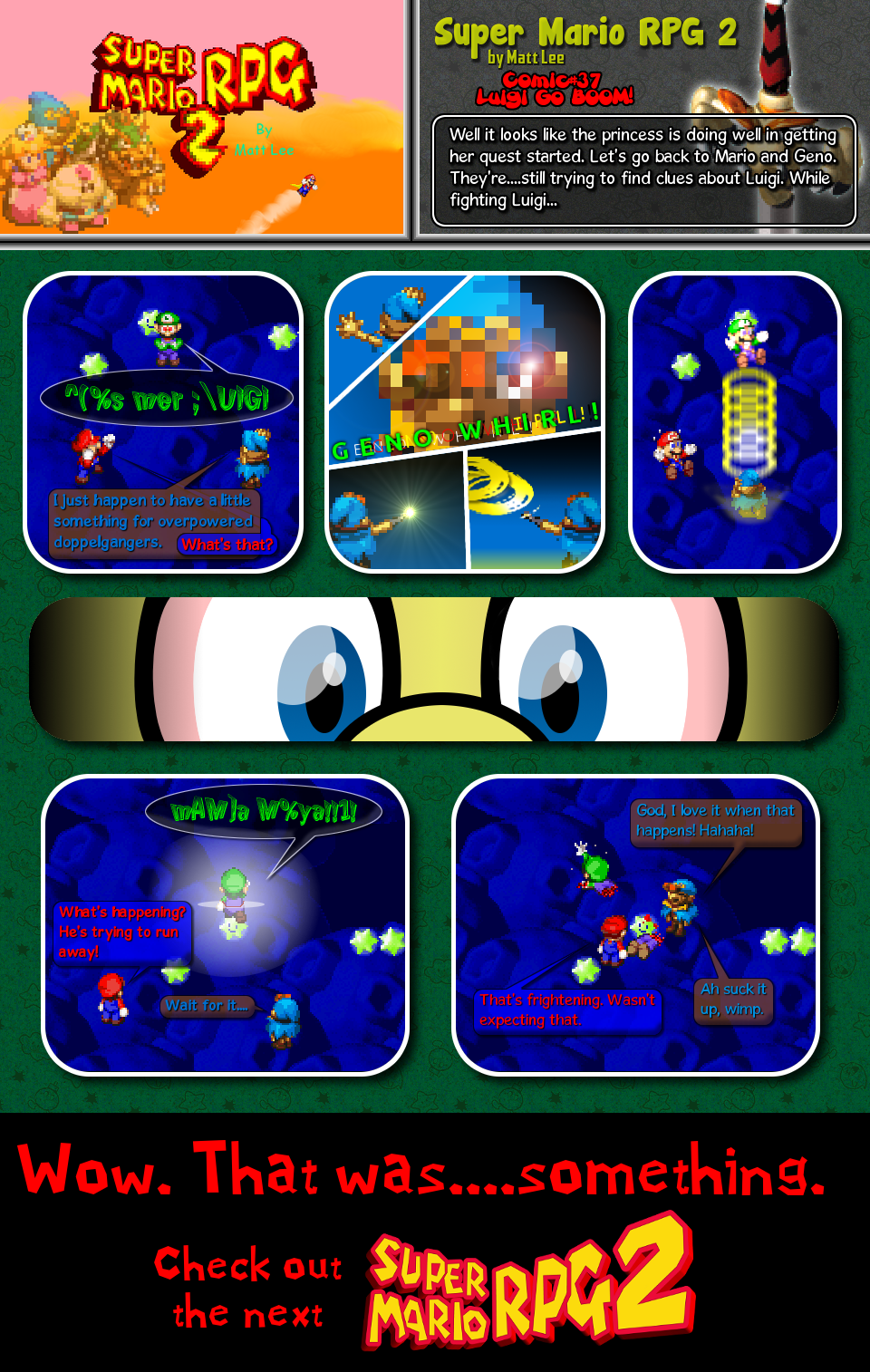 Super Mario RPG 2 - Webcomic by Matt Lee